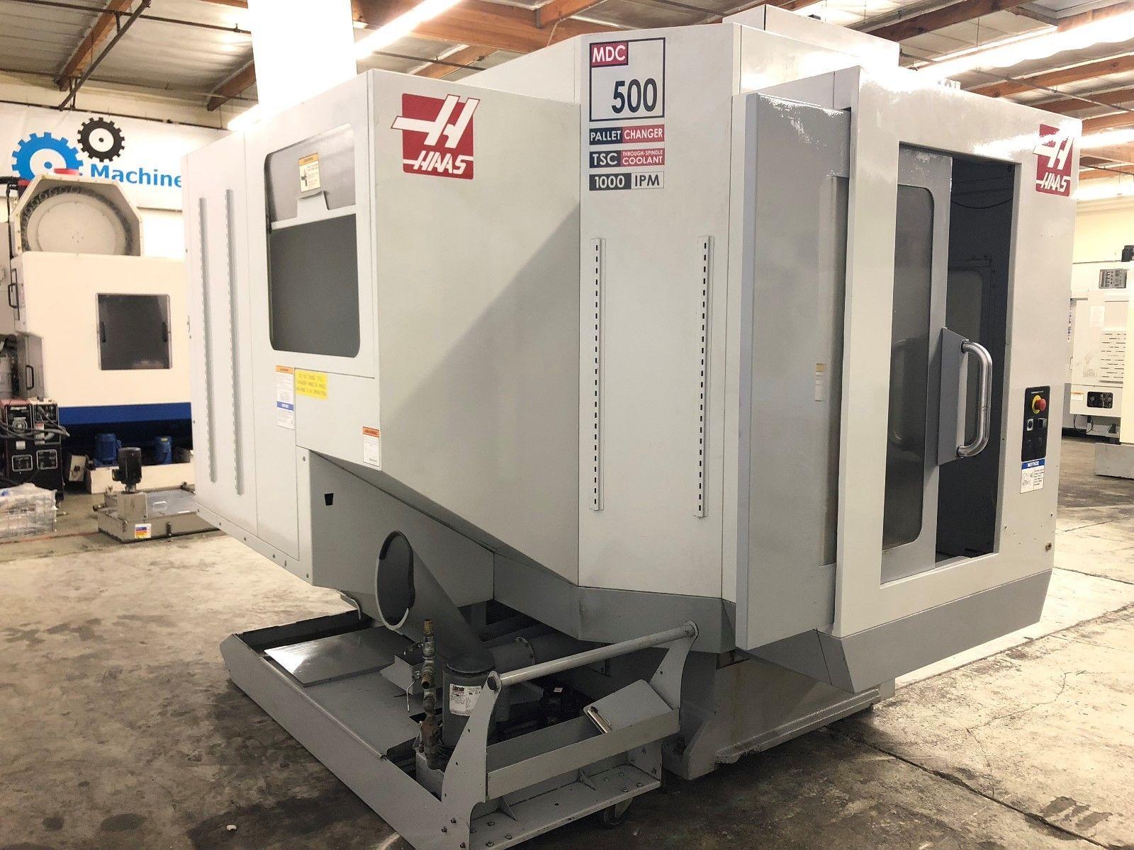 HAAS MDC-500 Mill Drill Tap Vertical Machining Center - MachineStation