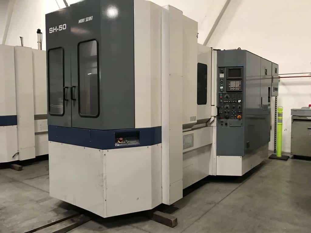 Mori Seiki Sh 50 Horizontal Machining Center Machinestation