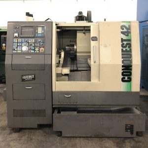 Hardinge Conquest 42 CNC Turn Mill Center