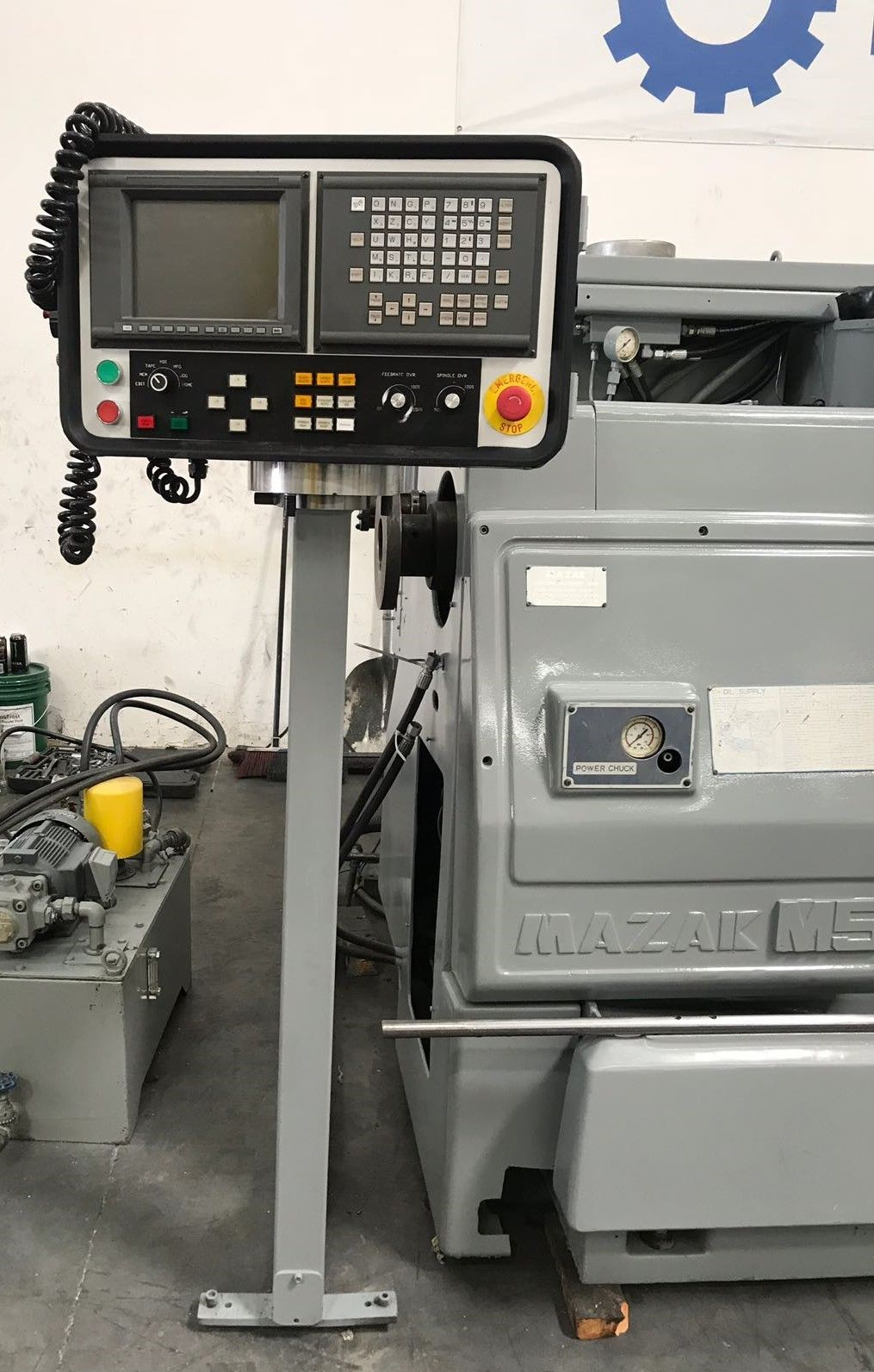 ... Used Mazak M5-2500 Big Bore CNC Lathe for Sale in California USA c ...