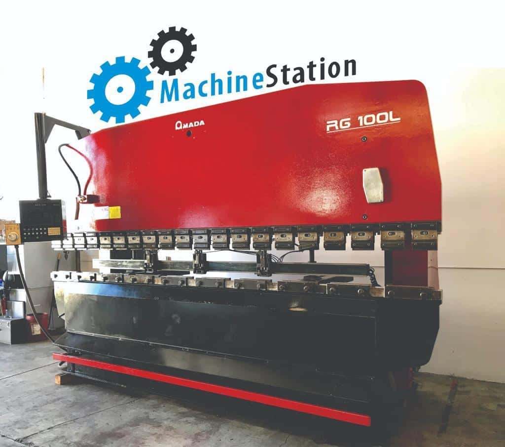 ... Amada RG-100L Hydraulic Upacting CNC Press Brake for Sale in California  c ...