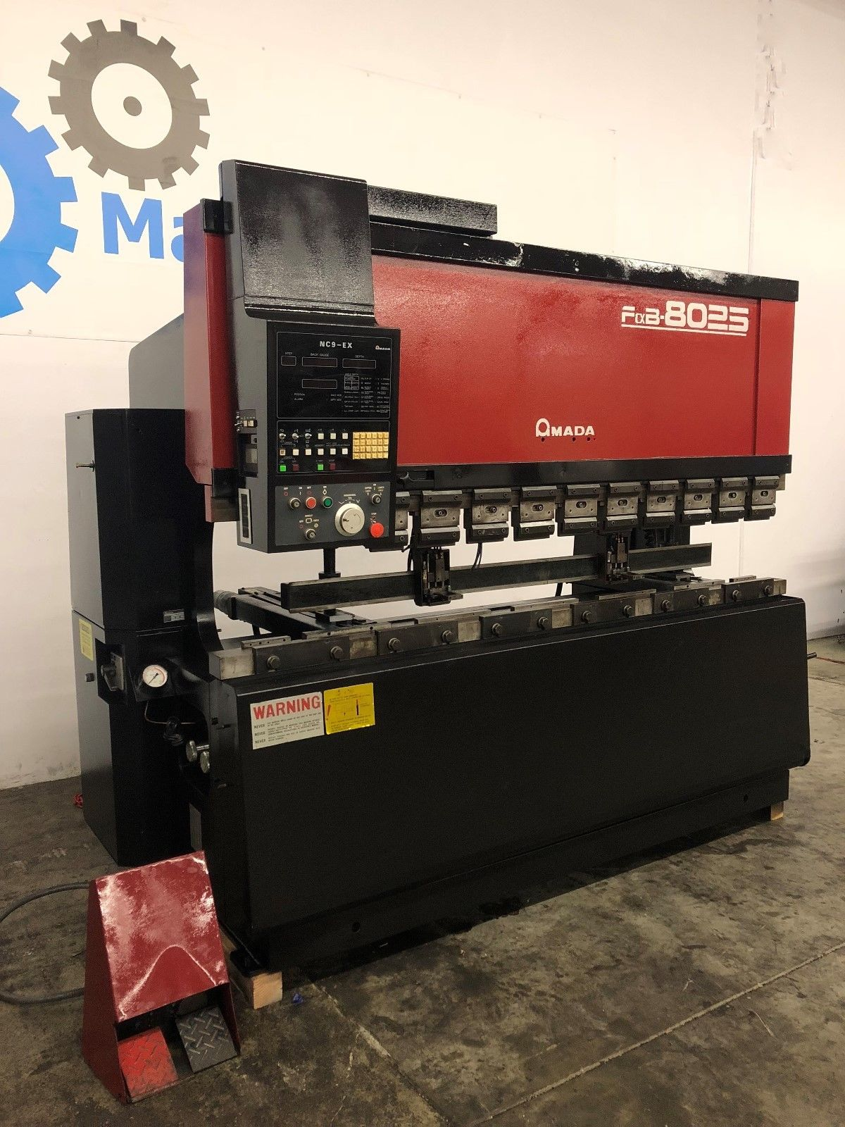 Amada FBD-8025 Hydraulic Upacting CNC Press Brake