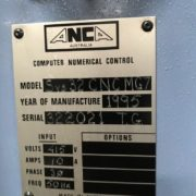 Used ANCA MG-7 FastGrind 7 Axis CNC Tool & Cutter Grinder for Sale in California i