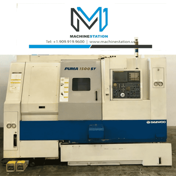 Used Daewoo Puma 1500SY CNC Turning for Sale in California (1)