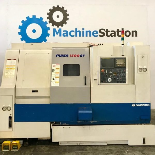 Used Daewoo Puma 1500SY CNC Turning for Sale in California