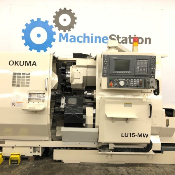 Used Okuma LU-15MW CNC SUB Spindle Turning Center for Sale in California