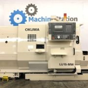 Used Okuma LU-15MW CNC SUB Spindle Turning Center for Sale in California a