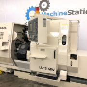 Used Okuma LU-15MW CNC SUB Spindle Turning Center for Sale in California b