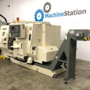 Used Okuma LU-15MW CNC SUB Spindle Turning Center for Sale in California d