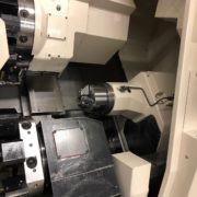 Used Okuma LU-15MW CNC SUB Spindle Turning Center for Sale in California g