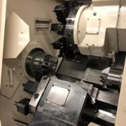 Used Okuma LU-15MW CNC SUB Spindle Turning Center for Sale in California h