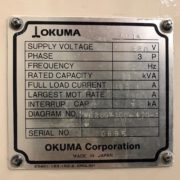 Used Okuma LU-15MW CNC SUB Spindle Turning Center for Sale in California j