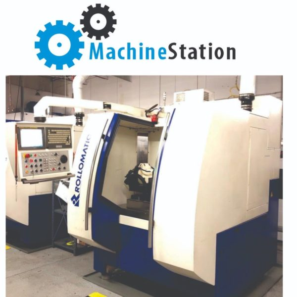 Used Rollomatic 620-XS CNC T&C Grinder for Sale in California MachineSTation USA