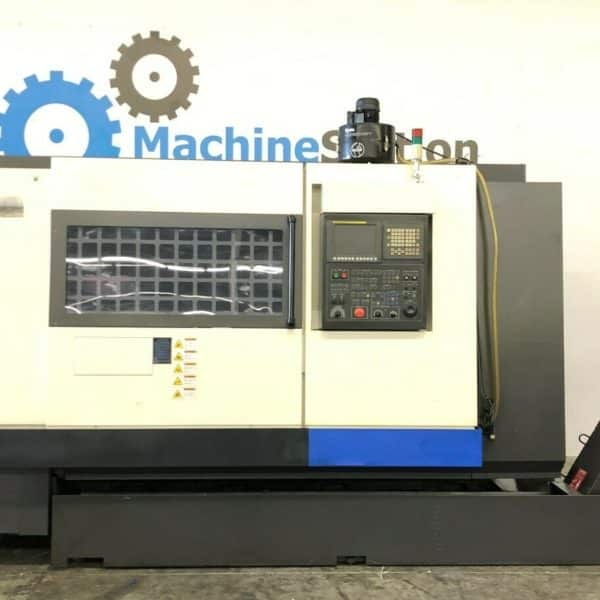 Used Hwacheon 300LMC CNC Turning Long Bed Lathe for Sale in California