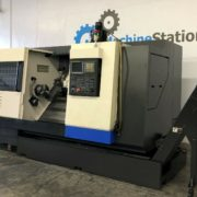 Used Hwacheon 300LMC CNC Turning Long Bed Lathe for Sale in California c