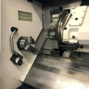 Used Hwacheon 300LMC CNC Turning Long Bed Lathe for Sale in California h