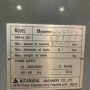Used Kitamura HX-500i Horizontal Machining Center for Sale in California j