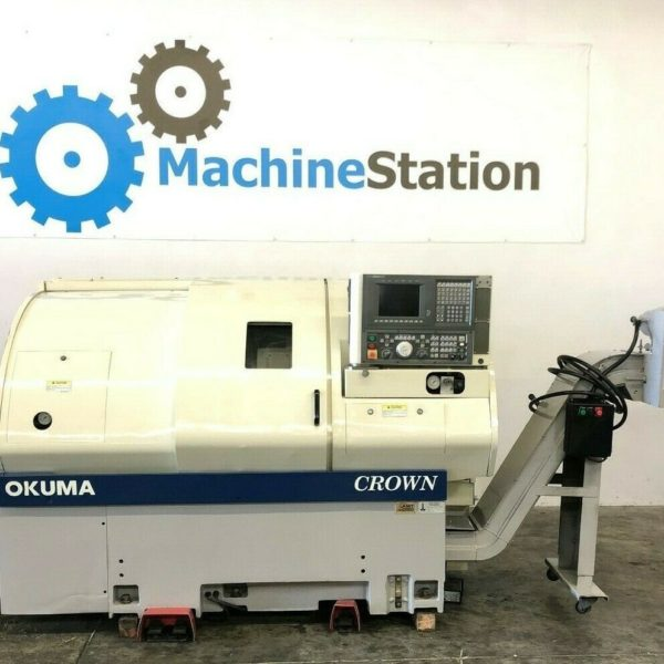 Used Okuma Crown L1060 762S-BB CNC Turning Center for Sale in California