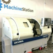 Used Okuma Crown L1060 762S-BB CNC Turning Center for Sale in California b