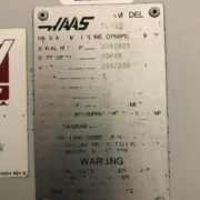 Haas TL-15 CNC SUB Spindle Live Tool Turning Center for Sale in California j
