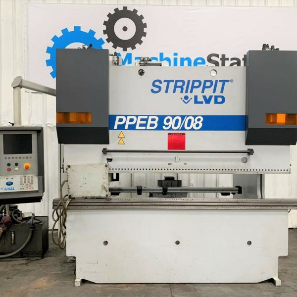 Strippit LVD PPEB 9008 Hydraulic CNC Press Brake for Sale in California