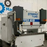 Strippit LVD PPEB 9008 Hydraulic CNC Press Brake for Sale in California a