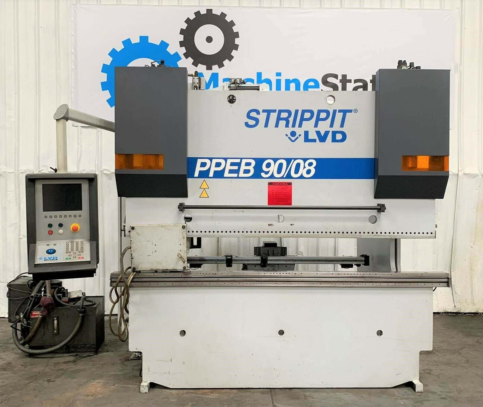 Strippit LVD PPEB 90/08 Hydraulic CNC Press Brake - MachineStation