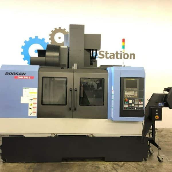 Used Doosan DNM-500II CNC Vertical Machining Center for Sale in California