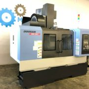 Used Doosan DNM-500II CNC Vertical Machining Center for Sale in California c