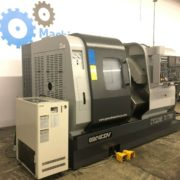 Used Ganesh Cyclone 70-TTMY CNC Twin Turret Lathe for Sale in California e