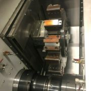 Used Ganesh Cyclone 70-TTMY CNC Twin Turret Lathe for Sale in California h