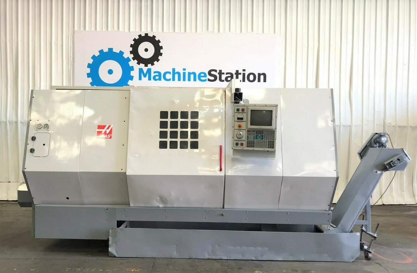 Haas HL-6 CNC Long Bed Turning Center - MachineStation Haas Tool Setter Wiring Diagram on