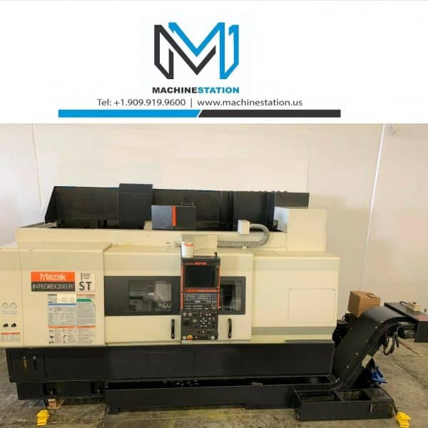 Used MAZAK Integrex 200-IV ST CNC Turning Center for Sale in California