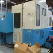 Used Mazak FH-480 Horizontal Machining Center for Sale in California USA f