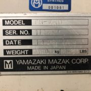 Used Mazak FH-480 Horizontal Machining Center for Sale in California USA g