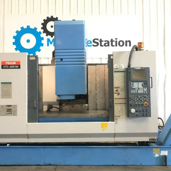 Mazak VTC-20050 CNC Vertical Machining Center for Sale in California
