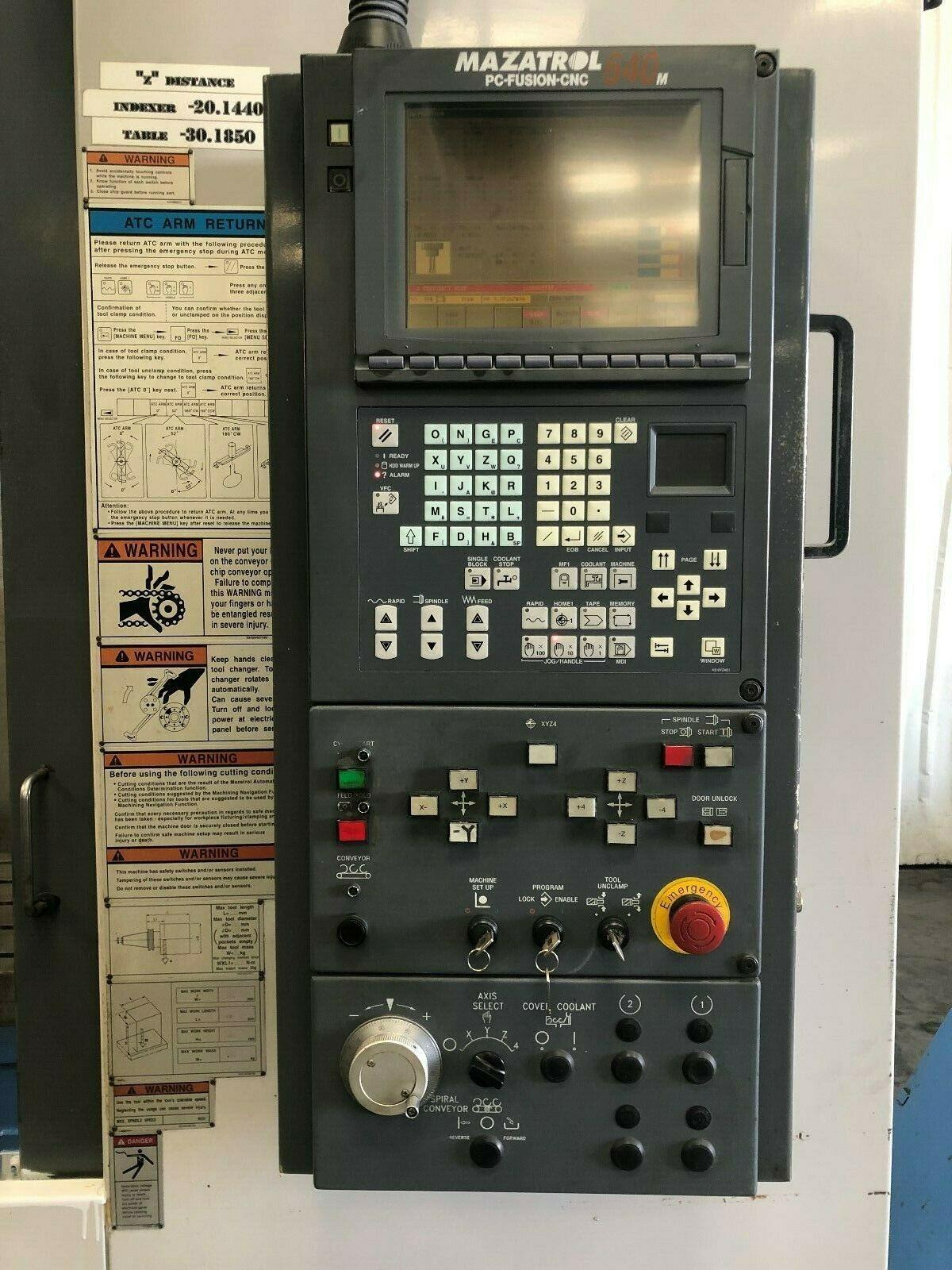 Cnc Mill For Sale >> Mazak VTC-200/50 CNC Vertical Machining Center - MachineStation