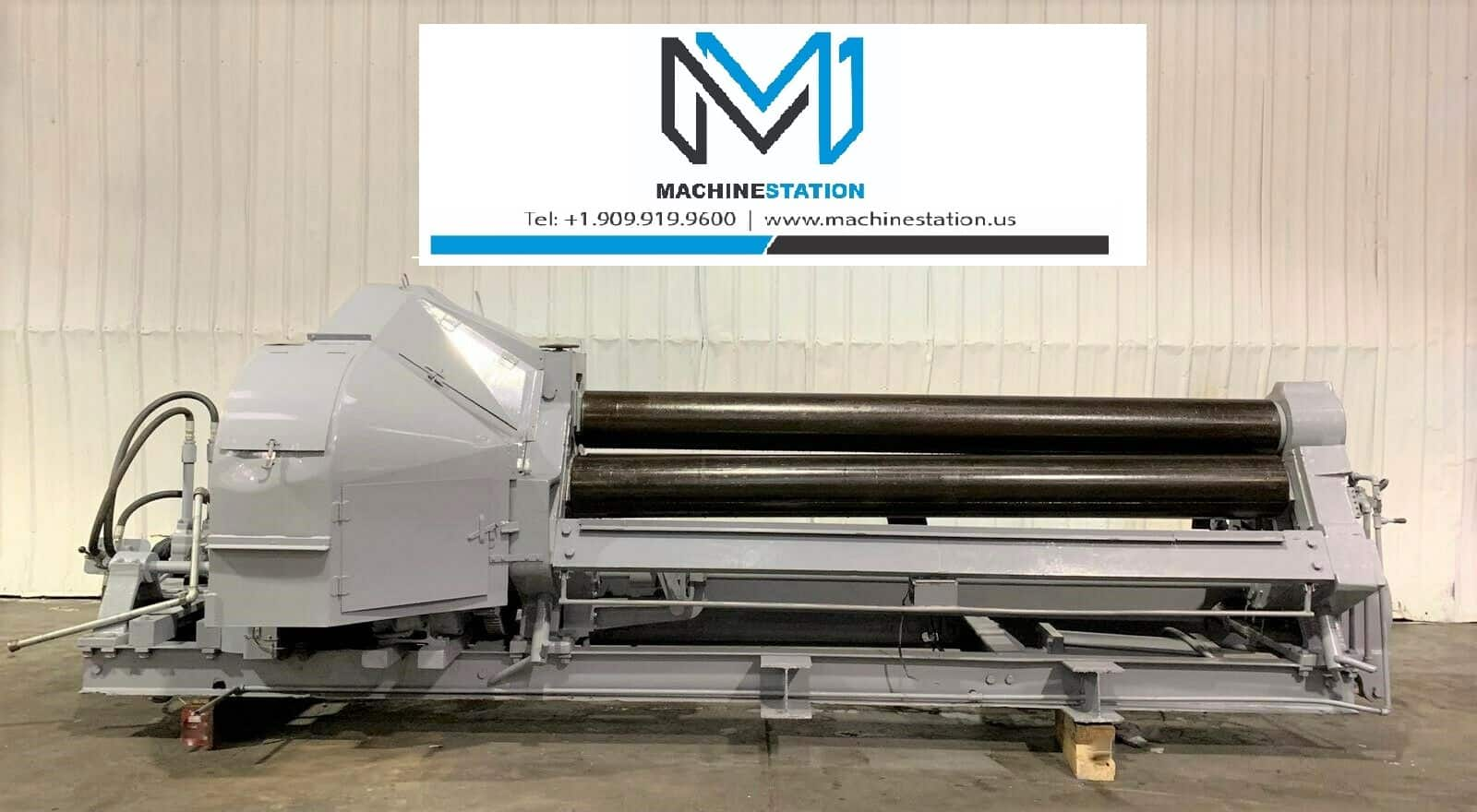 Used Bertsch Plate Rolling Machine for Sale in California M