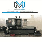 Haas DS-30SSY CNC Big Bore Sub Spindle Live Tool C Y Axis Turning for Sale in California (1)