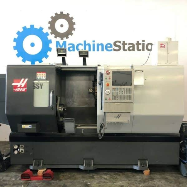 Haas DS-30SSY CNC Big Bore Sub Spindle Live Tool C Y Axis Turning for Sale in California