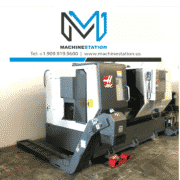 Haas DS-30SSY CNC Big Bore Sub Spindle Live Tool C Y Axis Turning for Sale in California (2)