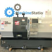 Haas DS-30SSY CNC Big Bore Sub Spindle Live Tool C Y Axis Turning for Sale in California a