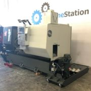Haas DS-30SSY CNC Big Bore Turning for Sale in California a