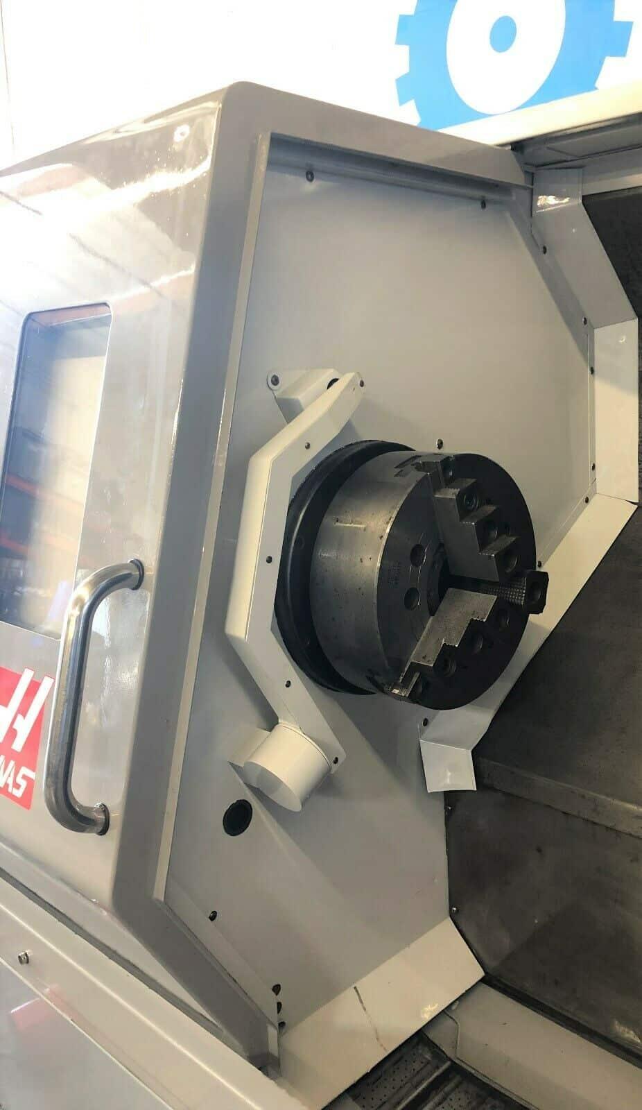 Haas sl 30tb cnc big bore turning center machinestation - Div style justify ...