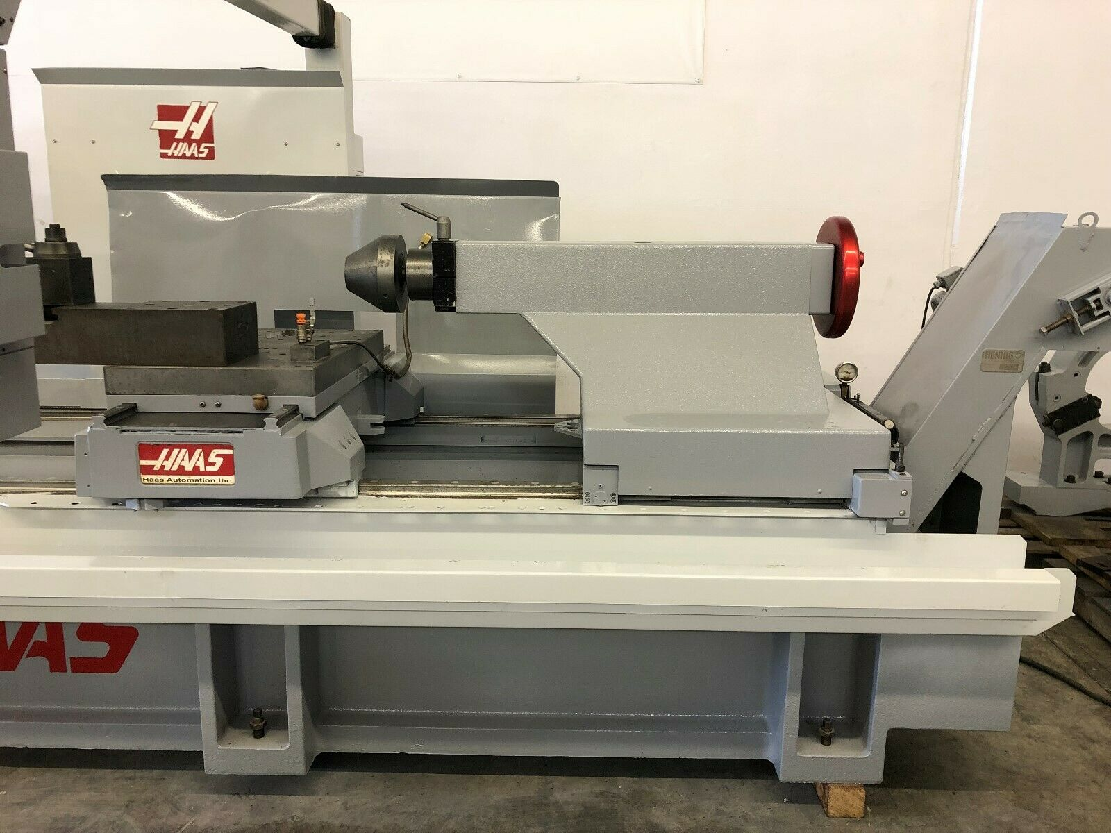 Lathe For Sale >> Haas Tl 4 Cnc Oil Long Bed Lathe Machinestation