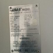 Haas VF-6 Vertical Machining Center for Sale in California k