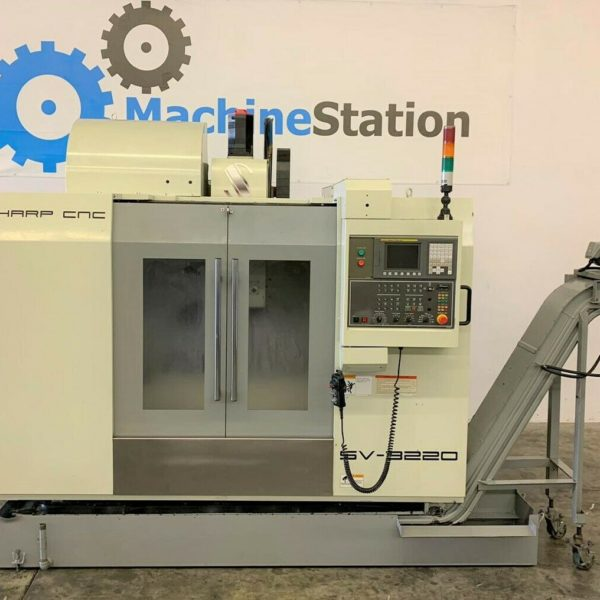 Sharp SV-3220 CNC Vertical Machining Center for Sale in California