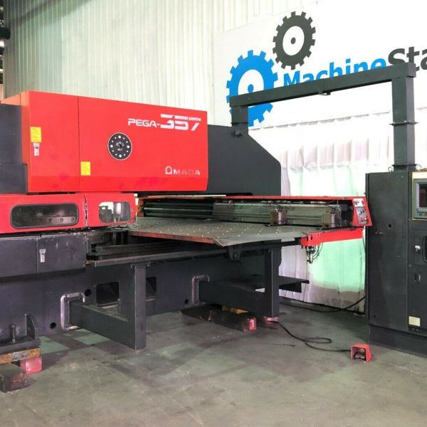 Used Amada Pega 357 CNC Turret Punch Press for Sale in California USA