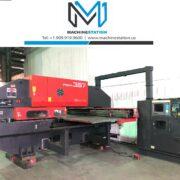Used Amada Pega 357 CNC Turret Punch Press for Sale in California USA MSU