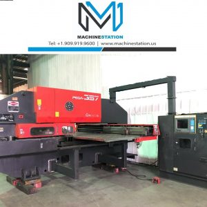 Used Amada Pega 357 CNC Turret Punch Press for Sale in California USA MSU